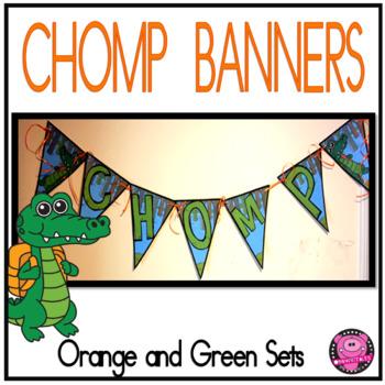 Gators Sports Theme CHOMP Banner