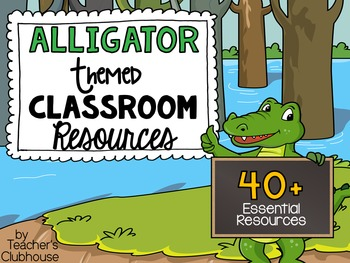 Gators Theme Pack from Teacher's Clubhouse