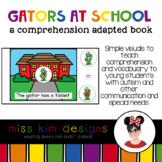 Gators at School Comprehension Adapted Book
