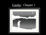 The Great Gatsby - Chapter 1 PPT