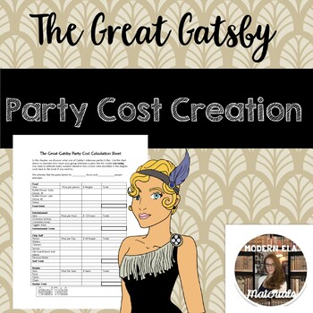 Gatsby Party Cost Creation