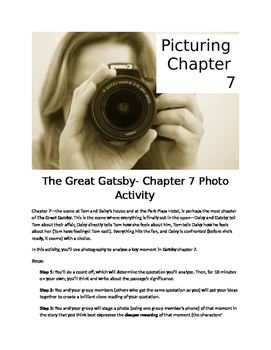 Gatsby- Picturing Chapter 7