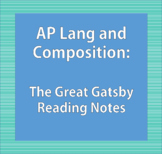 The Great Gatsby Reading Notes