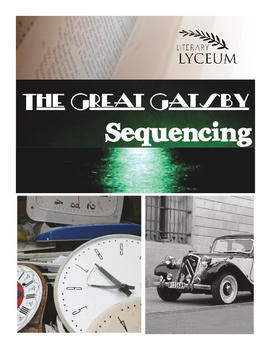 The Great Gatsby Sequencing Lesson
