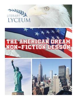 Gatsby and The American Dream: A Non-Fiction Lesson