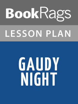Gaudy Night Lesson Plans