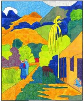 Gauguin Mural