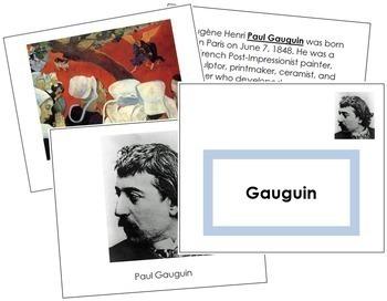 Gauguin (Paul) Art Book - Color Border