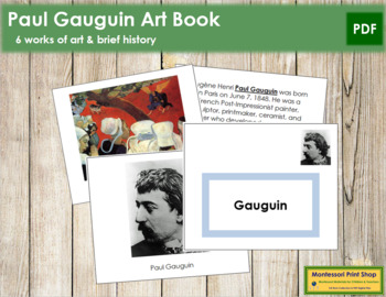 Gauguin (Paul) Art Book - Color Border