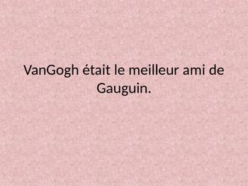 Gauguin Vrai Faux