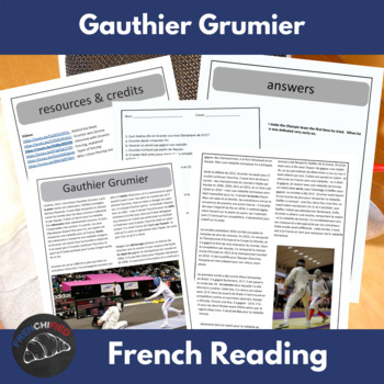 Gauthier Grumier - reading for French learners