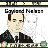 Gaylord Nelson Clip Art