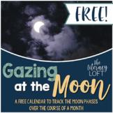 Gazing at the Moon Calendar-FREEBIE!