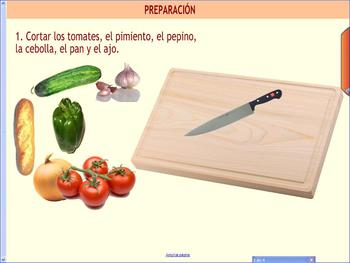 Gazpacho: an interactive recipe from Spain