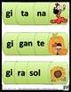 Ge Gi Gue Gui Güe Güi  Puzzle (Rompecabezas por sílabas)