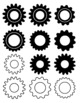 Gear Alphabet and Decorations
