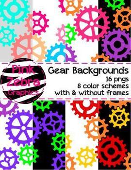 Gear Backgrounds