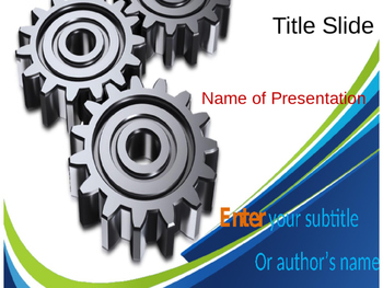 Gear PPT Template