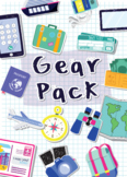 Gear Pack, Travel Activity, Explore, Learn about World, Reusable, Differentiated