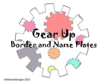 Gear Up Border and Name Plates