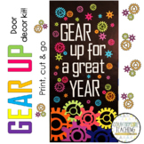 Gear Up For A Great Year Door Decoration Kit - August/Sept