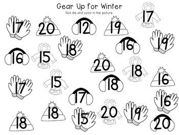 Gear Up for Winter FREEBIE