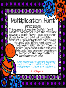 Gearing Up For Multiplication