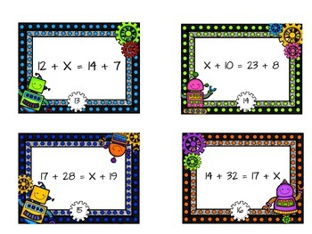 Gearing Up For Number Sense - a beginning algebra activity