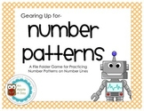 Gearing Up for Number Line Number Patterns