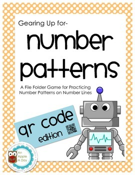 Gearing Up for Number Line Number Patterns with QR Codes