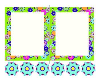 Gears Mini Paper/Blank Chart