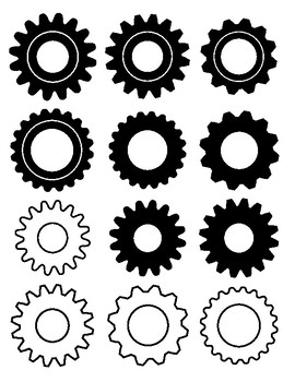 Gears Theme Decorations