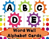 Gears Word Wall Cards