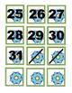 Gears on Green Calendar Covers Set 1-31 Plus