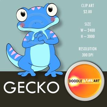 Gecko Clip Art