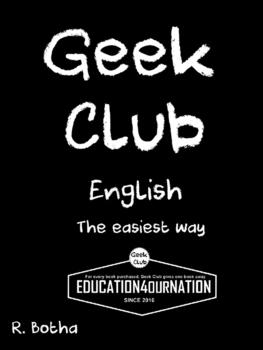 Geek Club English grammar (the easiest way)