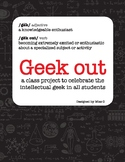 Geek Out: a get-to-know-you Community Building activity