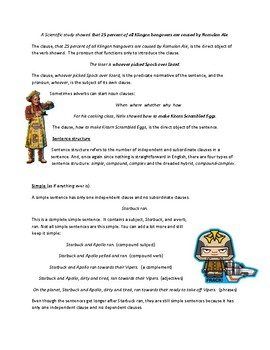 Geek's Guide to Grammar-Clauses