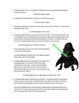 Geek's Guide to Grammar-Tenses