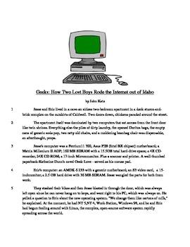 Geeks - Literary Text Test Prep