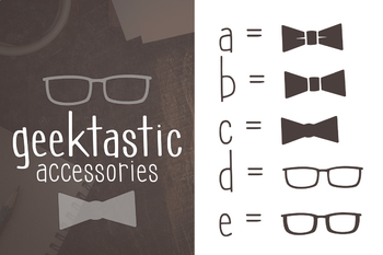 Geektastic Font Family for Commercial Use