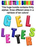 Gel Alphabet Bundle