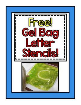 Gel Bag Stencils Freebie!