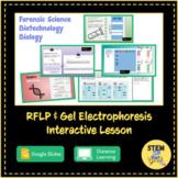 Gel Electrophoresis Interactive Biotechnology Lesson DISTA