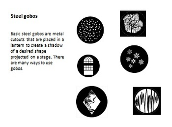 Gels and Gobos PowerPoint