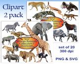 Gem Alphabet Clip Art Set
