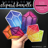 Gem Clipart Bundle