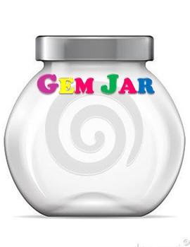 Gem Jar- Classroom Rewards