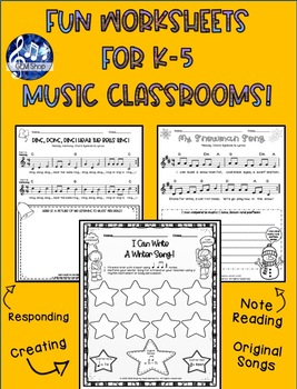 Music: Counting, Rhythm, Math Games and Listening Activities