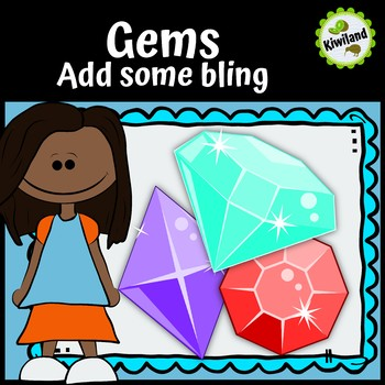 Gems - Jewels - Add some Bling Clipart